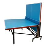 میز پینگ پنگ چرخدار ملامینه مدل T107 Melamine wheeled ping pong table model T107