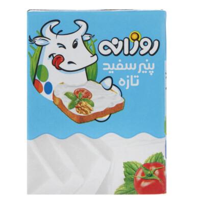 پنیر سفید تازه نسبتاً چرب روزانه Fresh white cheese is relatively fatty daily