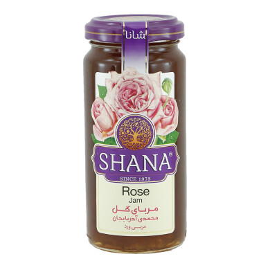 مربای گل محمدی آذربایجان شانا - 315 گرمی Mohammadi flower jam of Azerbaijan Shana