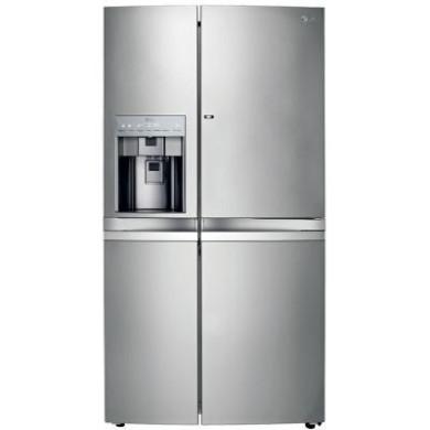 یخچال فریزر ساید بای ساید ال جی مدل  Bentlee SXB530  LG SXB530 Refrigerator & Freezer Side by Side BENTLEE 28 Ft